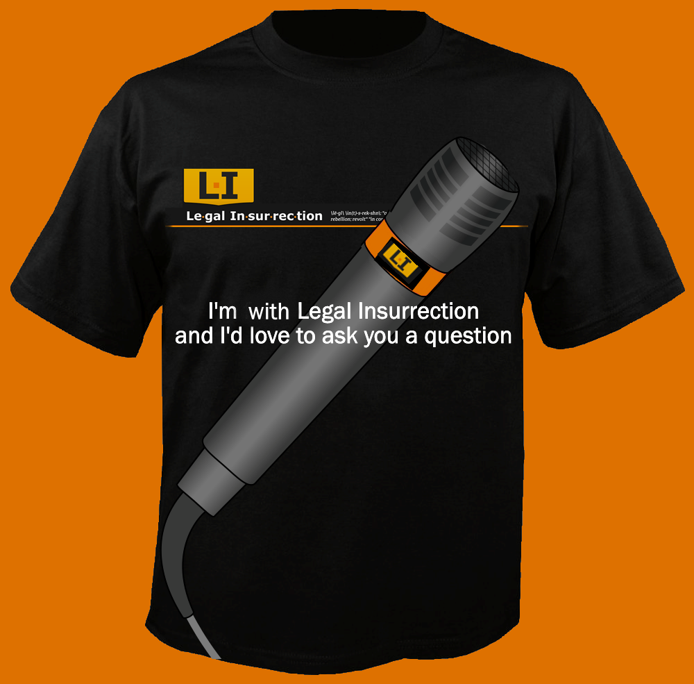 LI T-shirt -- I'd love to ask you a question