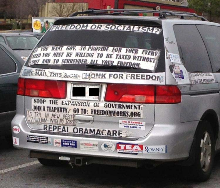 Bumper Stickers - Atlanta - Freedom