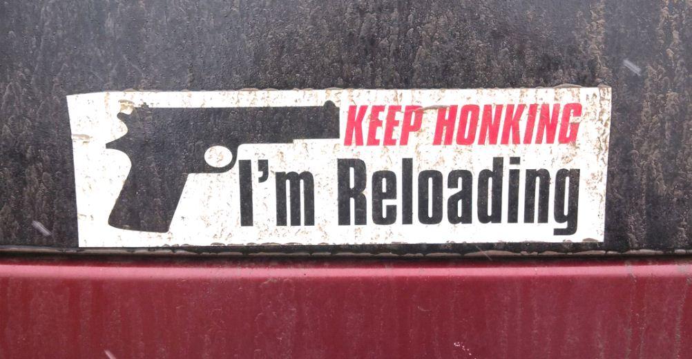 Bumper Sticker - Ithaca - Keep Honking