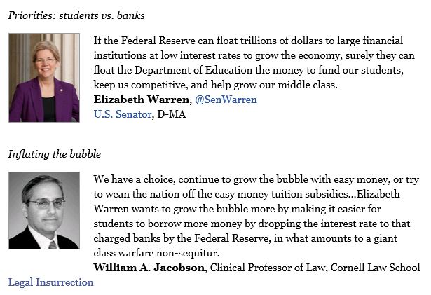 Boston Globe - Swimming in student debt