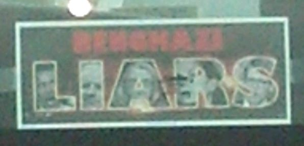 Bumper Sticker - Richmond VA - Benghazi Liars