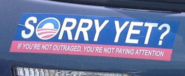 Bumper Sticker - New Jersey - Sorry Yet