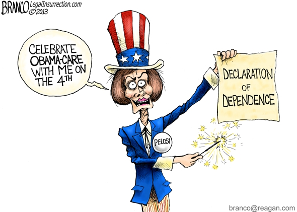 Nancy Pelosi 4th of July