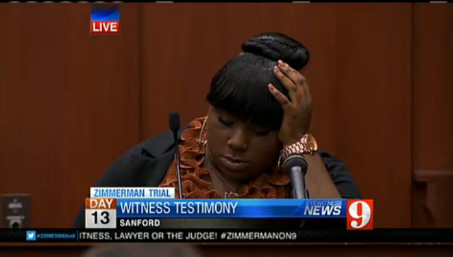 State witness Rachel Jeantel