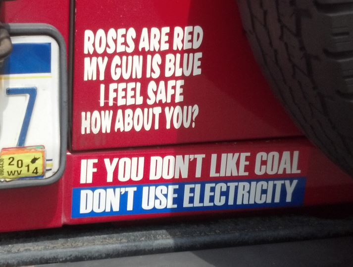 Bumper Sticker - West Virginia - Coal