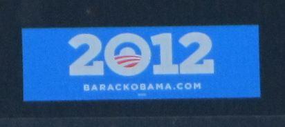 Bumper Sticker - Portland OR - Obama 2012