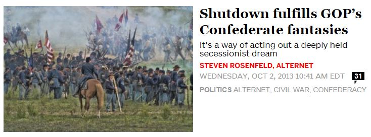 Salon.com GOP confederate fantasies