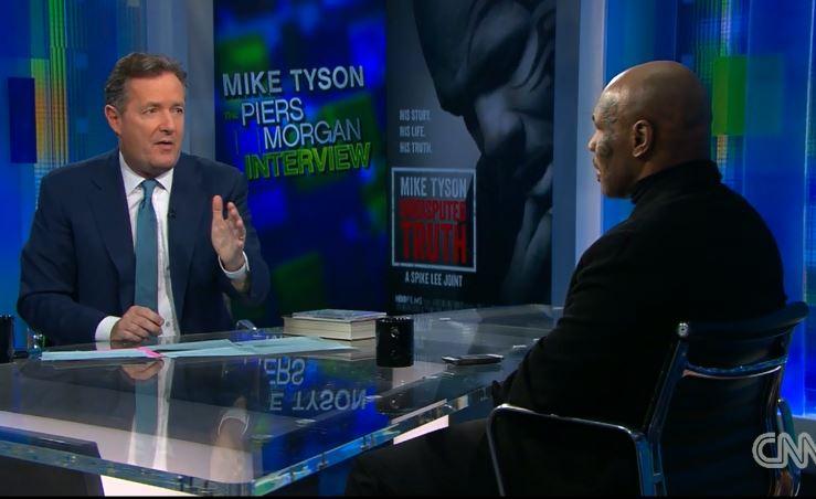 Piers Morgan Mike Tyson