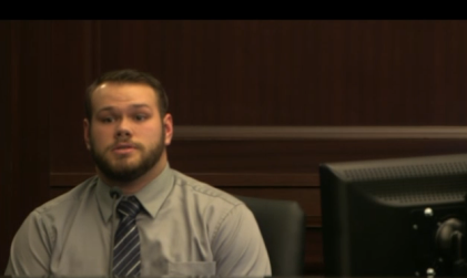 """Loud music"" murder trial witness, Andrew Williams, Christian chaperone, witness of events of shooting"