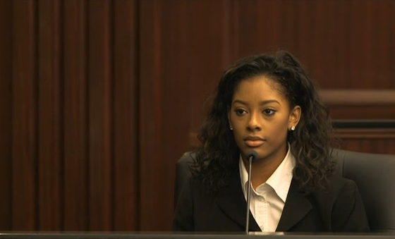 """Loud music"" murder trial witness, Elia Harris, girlfriend of Jordan Davis"