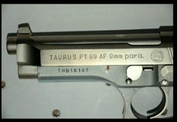 (Dunn's Taurus PT99 9mm.)