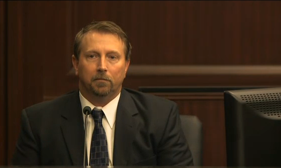 """Loud music"" murder trial witness, Steven Smith, general contractor, witness of events of shooting"