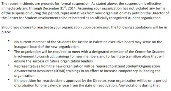 Northeastern SJP Suspension Notice 4