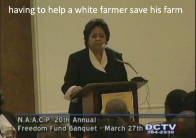 Shirley Sherrod Breitbart Original Video clip Helping white farmer save his farm
