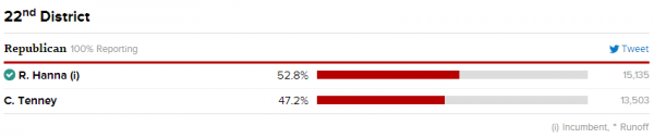 NY22 Final Results 2014 Republican Primary