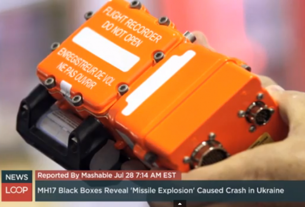 Malaysia Flight 17 | Black Box | Missile Destroyed