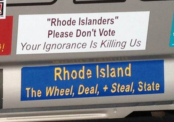 Bumper Stickers - Riverside RI - Rhode Island Wheel Deal Steal