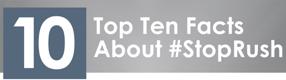 TopTenFactsStopRushHeader
