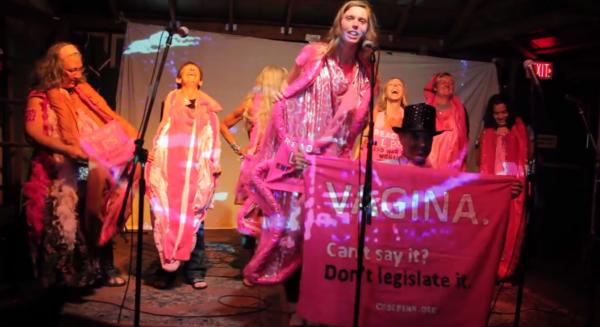 Code pink vagina feminism comet scientist shirt