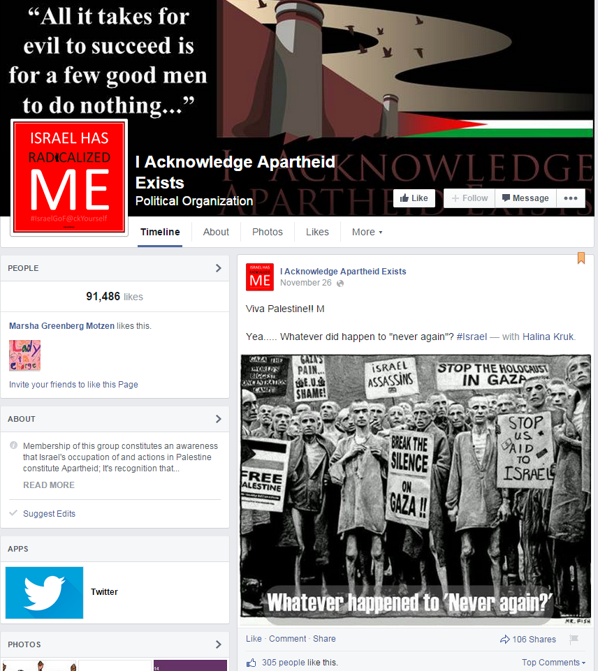 https://www.facebook.com/IAcknowledgeApartheidExists/photos/a.116419295219428.1073741828.116415985219759/321047701423252/?type=1