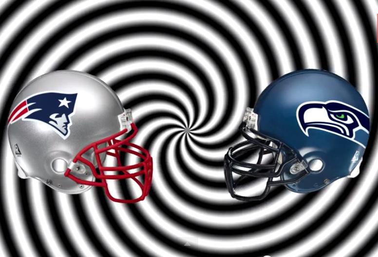 Patriots Seahawks helmets Capitol City Video