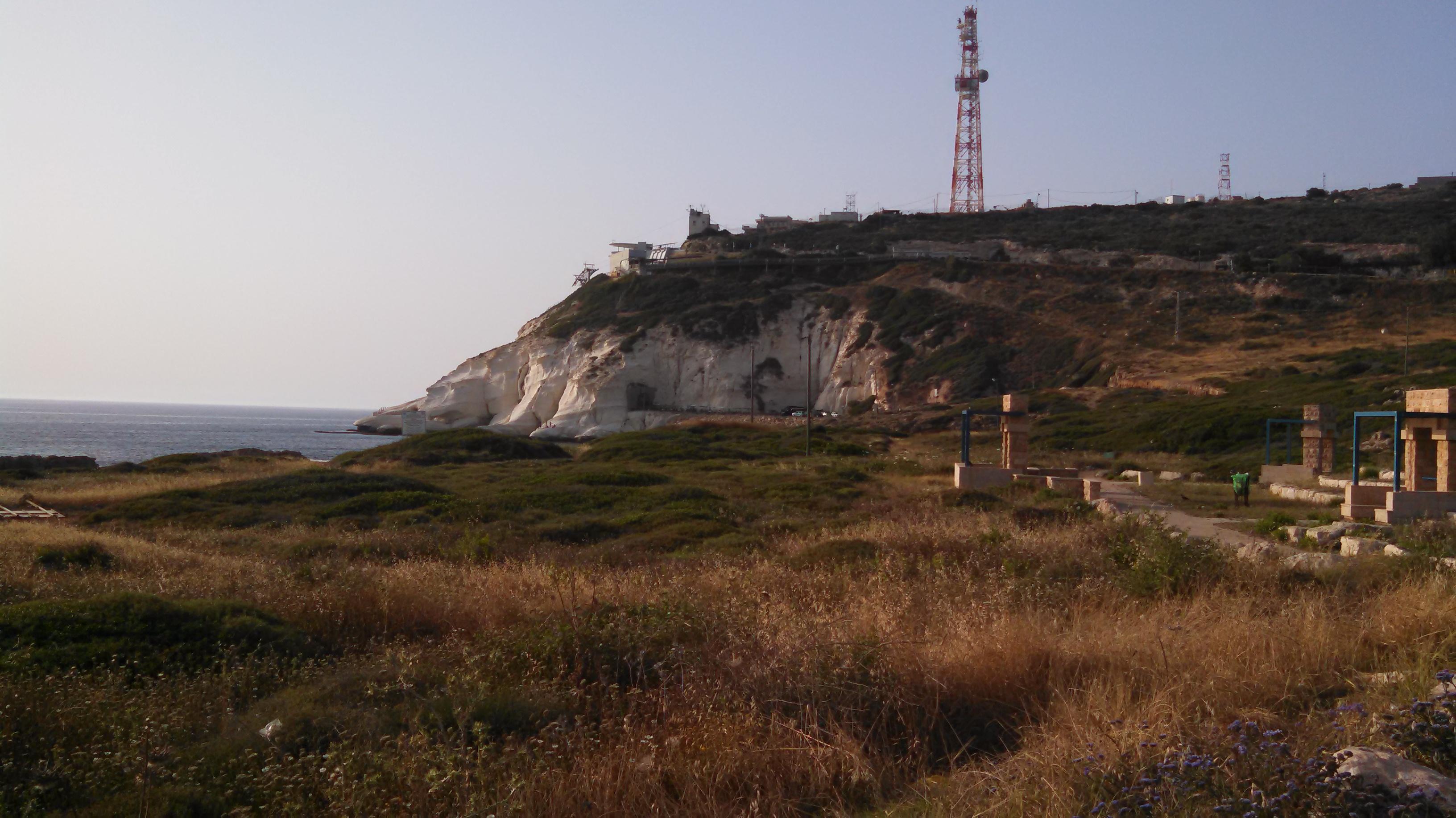 Rosh Hanikra Cliff Border