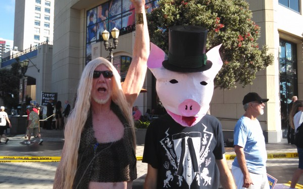 ALEC Protest San Diego Capitalist Pig
