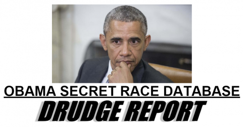 Drudge Obama Secret Race Database