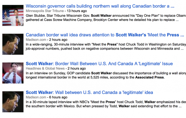 scott walker headlines immigration reform border security associated press wall canada
