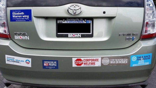 Bumper Stickers - Harrisonburg, VA - Obama Warren