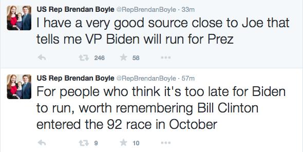 Brendan Boyle Biden Tweets