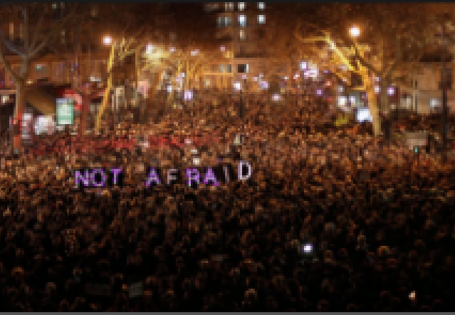 Paris rallies after Charlie Hebdo attack