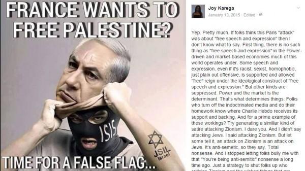 Karega Oberlin Netanyahu ISIS