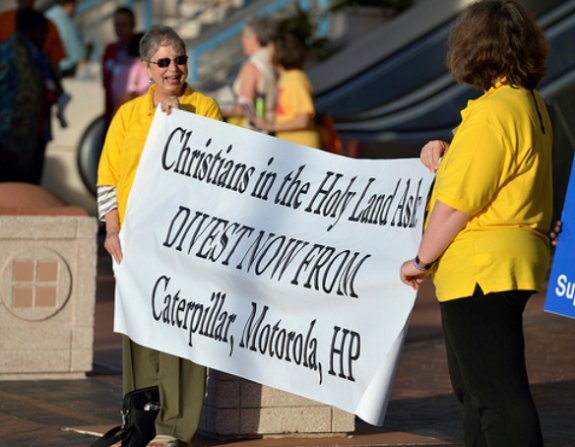 Christians in Holy Land ask for divestment