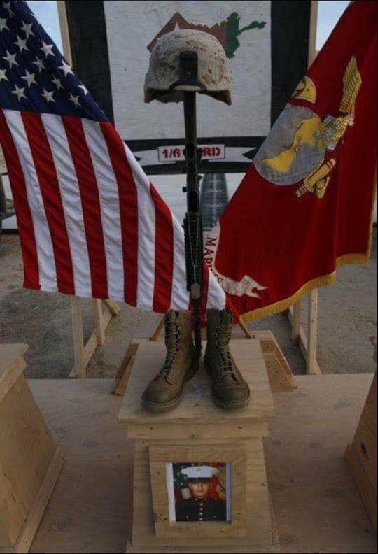 [Memorial to Jonathan Porto, Marjah Afghanistan]
