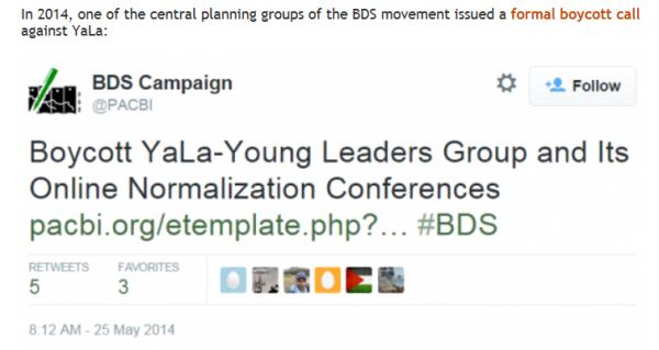 Boycott of YaLa