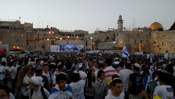 Jerusalem Day 2016 - Western Wall Plaza Dusk