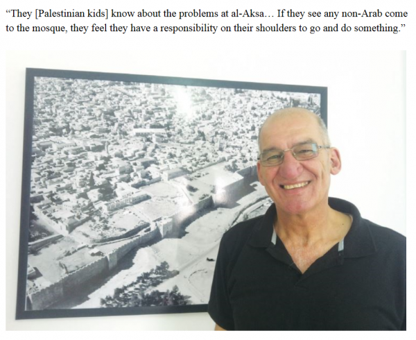 Fuad Abu Hamed | Businessman and Lecturer | Sur Baher, southeast Jerusalem | Credit: JPost