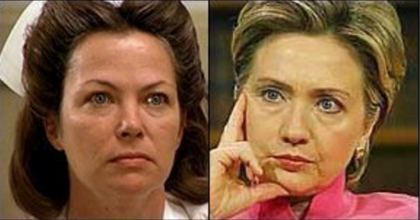 Hillary Clinton Nurse Ratched