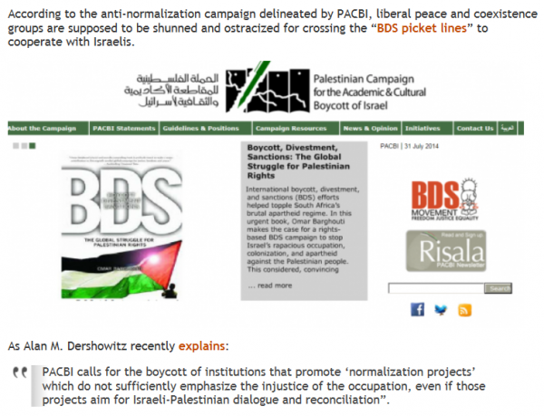 BDS and anti-normalization