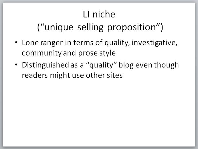 Legal Insurrection Research - Slide - LI Niche