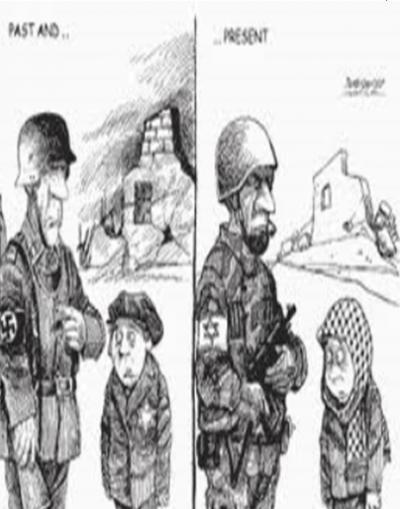 Nazi, IDF, Warsaw, Gaza