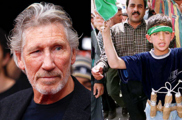 Rogert Waters Palestinian Boy With Bomb Belt