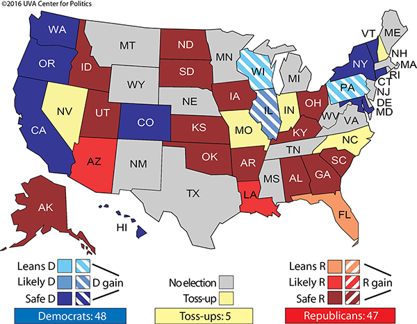 http://www.realclearpolitics.com/epolls/2016/senate/2016_elections_senate_map_no_toss_ups.html