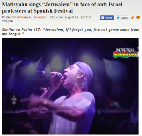 https://legalinsurrection.com/2015/08/matisyahu-sings-jerusalem-in-face-of-anti-israel-protesters-at-spanish-festival/