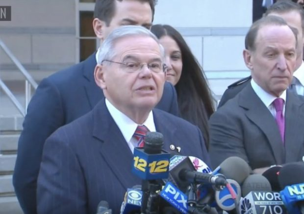 Justice Dept. files to dismiss charges against Sen. Bob Menendez