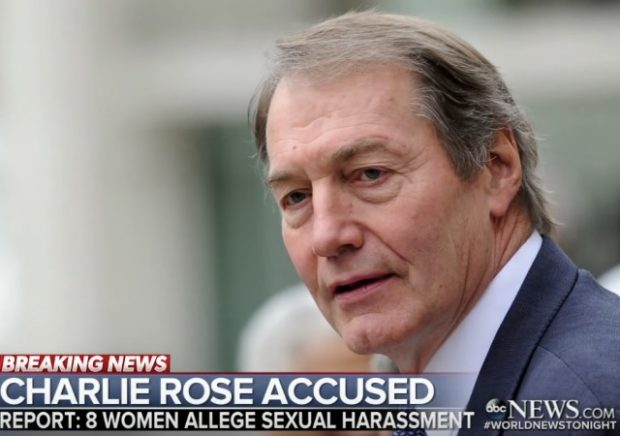 ASU rescinds Cronkite Award it gave to Charlie Rose