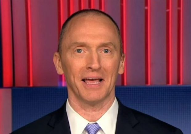 Carter Page: FBI 'shredded' Constitution by eavesdropping on him