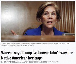 https://www.politico.com/story/2018/02/14/elizabeth-warren-native-american-heritage-409245