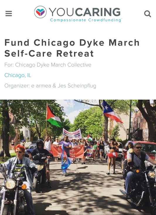 https://www.youcaring.com/chicagodykemarchcollective-863410